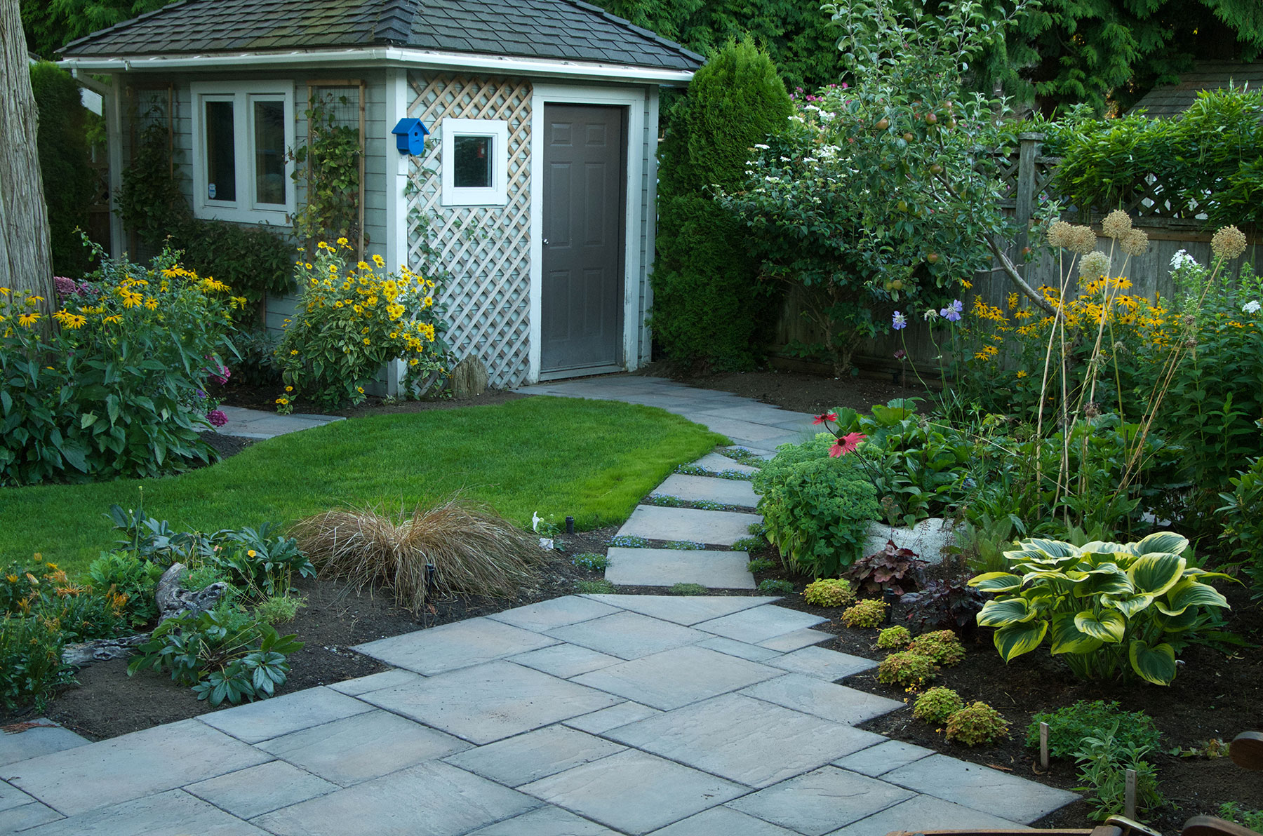 Landscape Contractors Build Functional Backyard & Peaceful Retreat in Surrey, BC