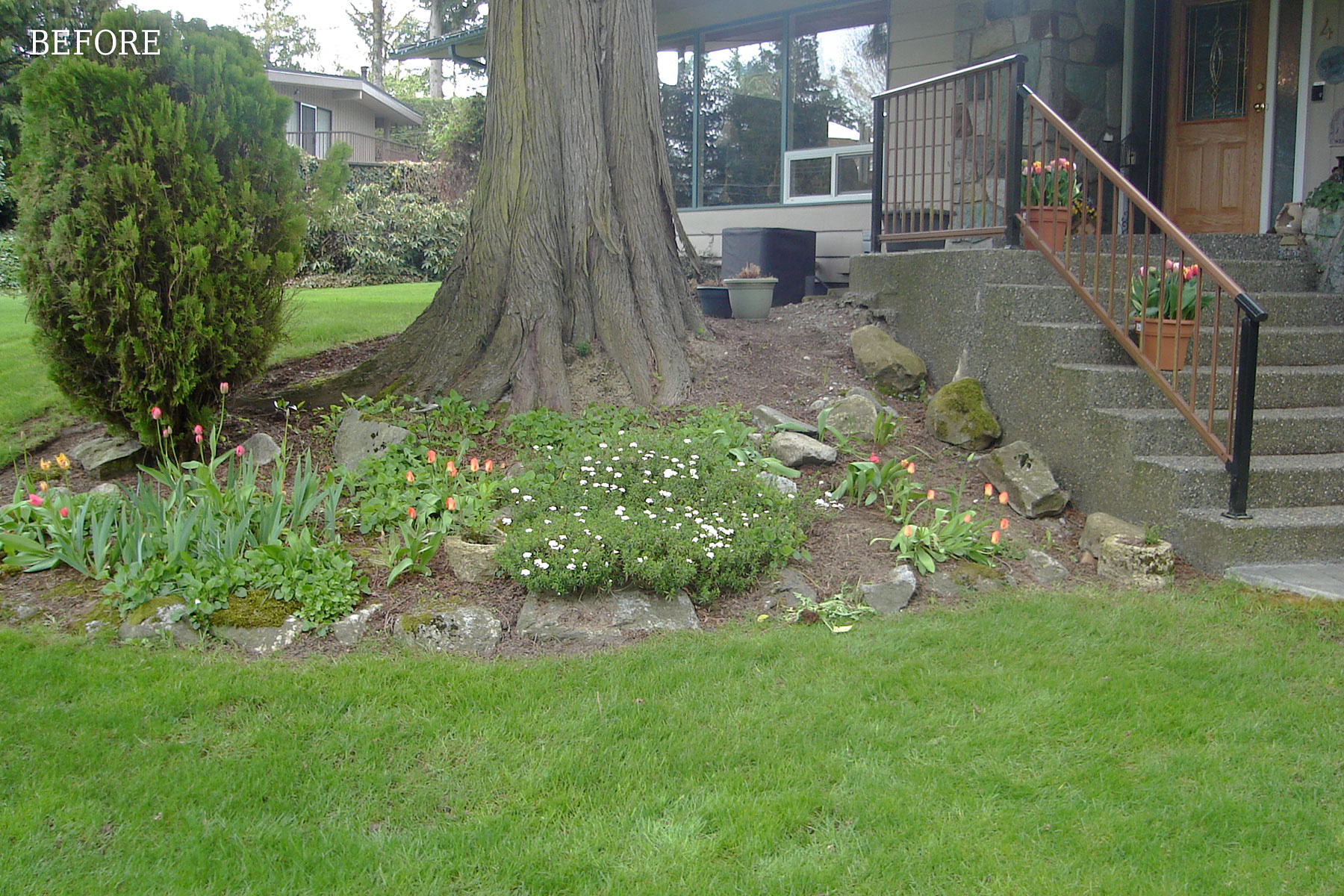 Water Feature Landscape Project & Hot Tub Gazebo Construction in Murrayville, Langley, BC